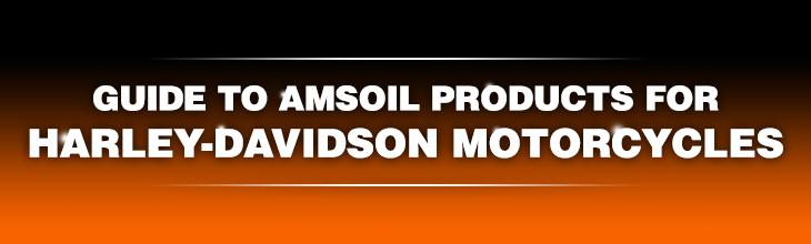 Amsoil Harley Davidson converstion chart